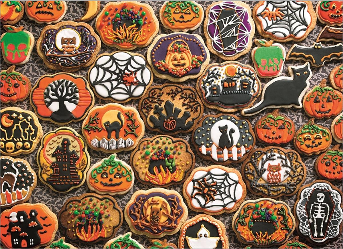 Halloween Cookies Halloween Jigsaw Puzzle