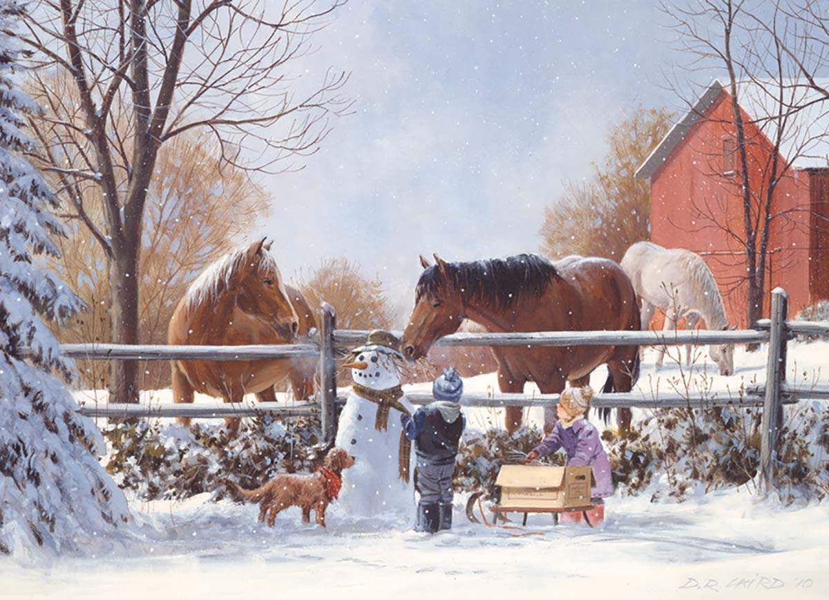 Frosty's Friends Horses Jigsaw Puzzle