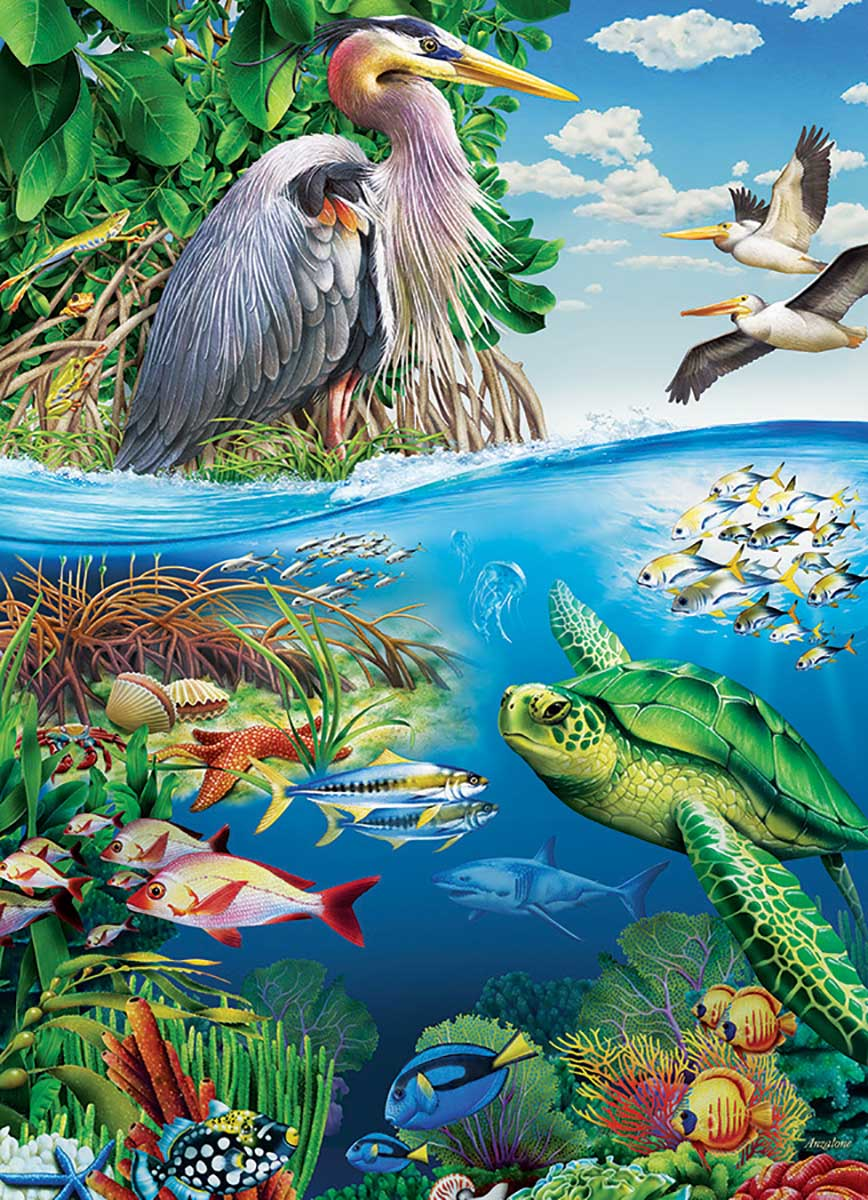 Earth Day Birds Jigsaw Puzzle