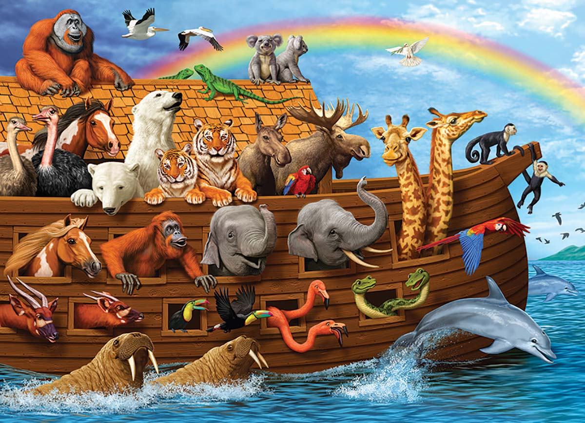 Voyage of the Ark Animals Jigsaw Puzzle