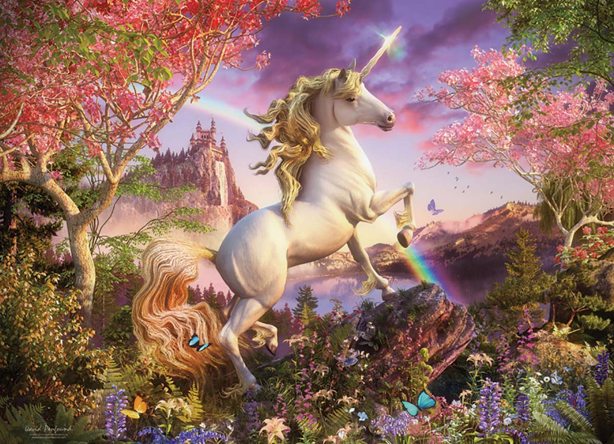 Realm of the Unicorn Unicorns Jigsaw Puzzle