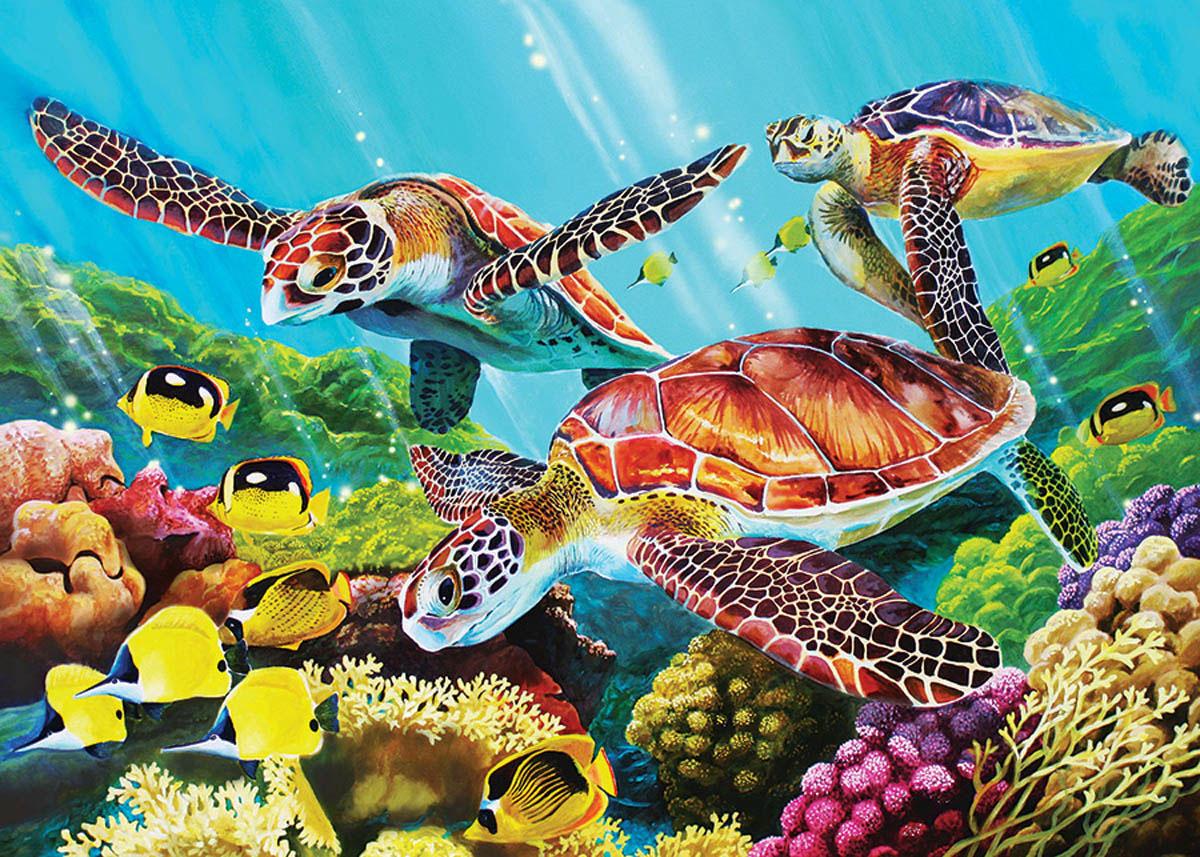 Molokini Sea Seascape / Coastal Living Jigsaw Puzzle