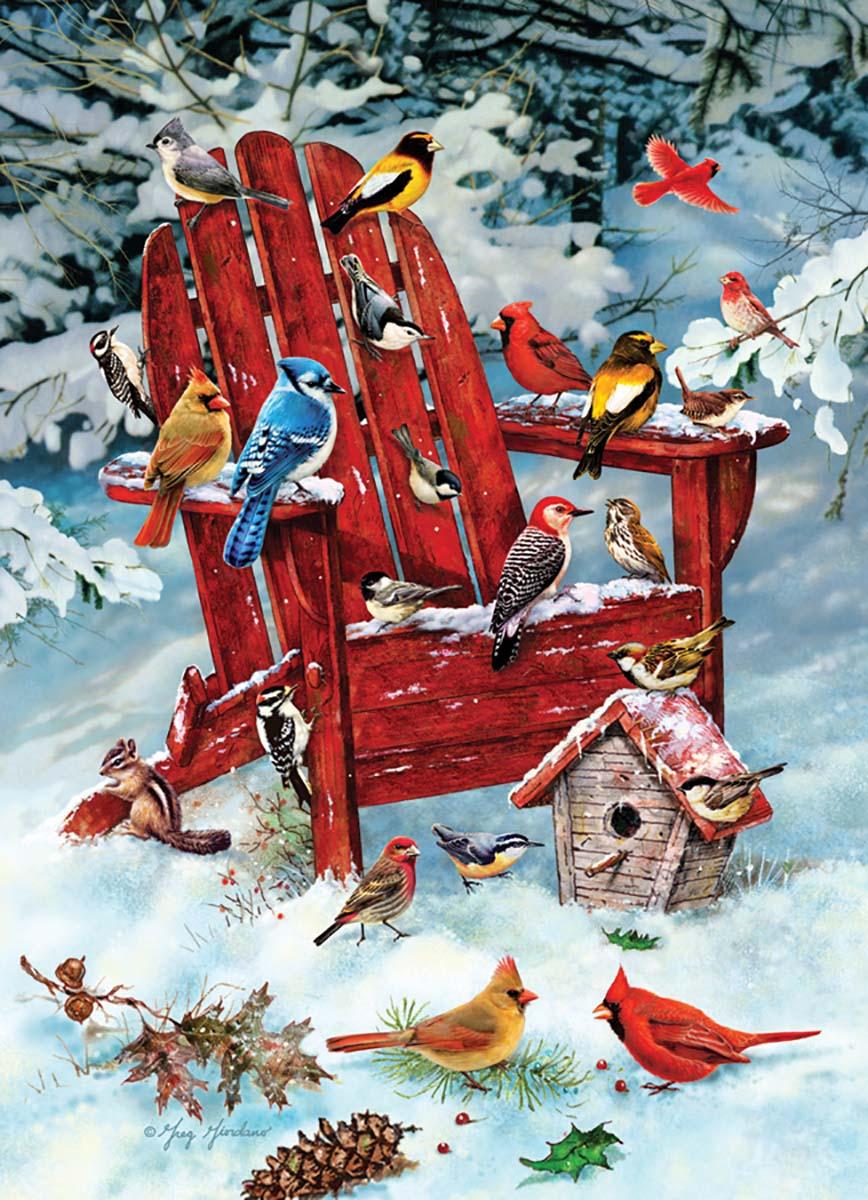 Adirondack Birds Birds Jigsaw Puzzle