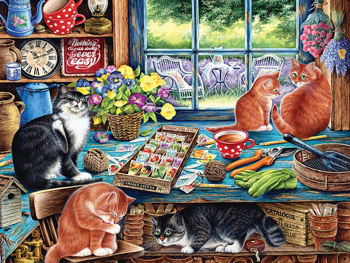 Cats Retreat Cats Jigsaw Puzzle