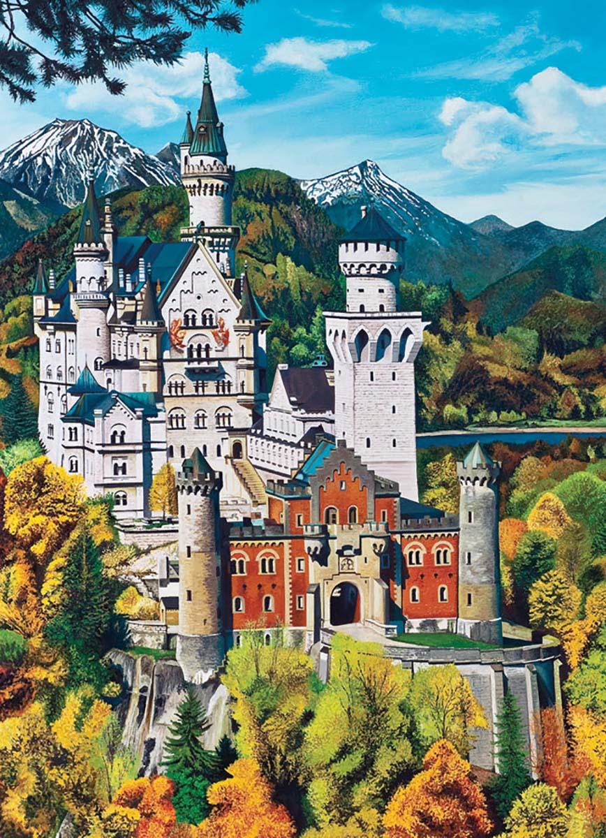 Bavarian Castle Castles Jigsaw Puzzle