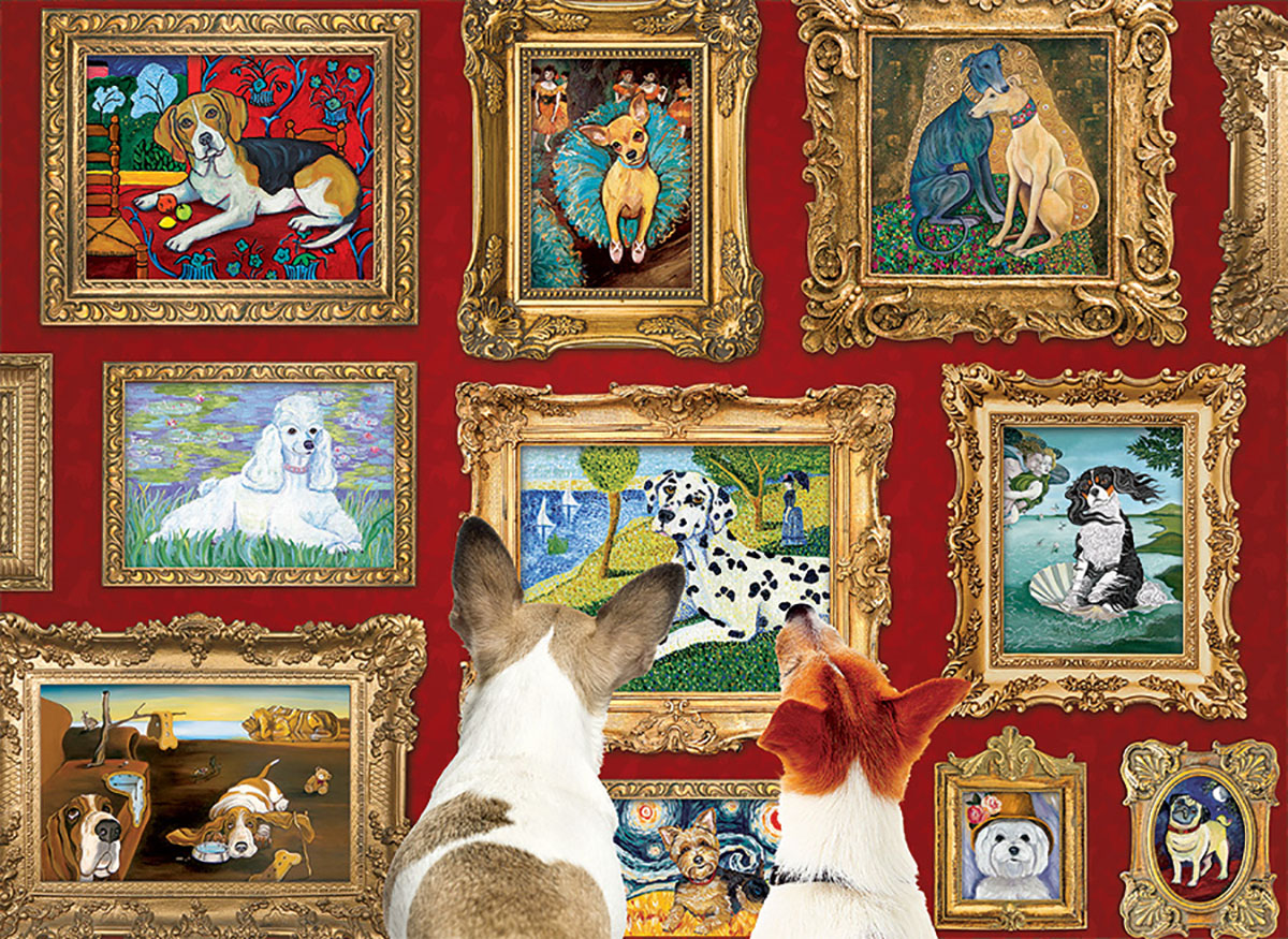 Dog Gallery Dogs Jigsaw Puzzle
