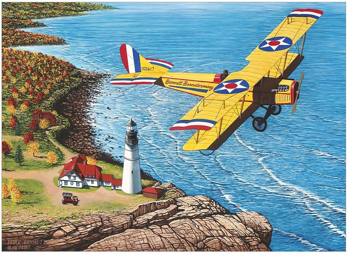 Bennett Barnstorming Lighthouses Jigsaw Puzzle