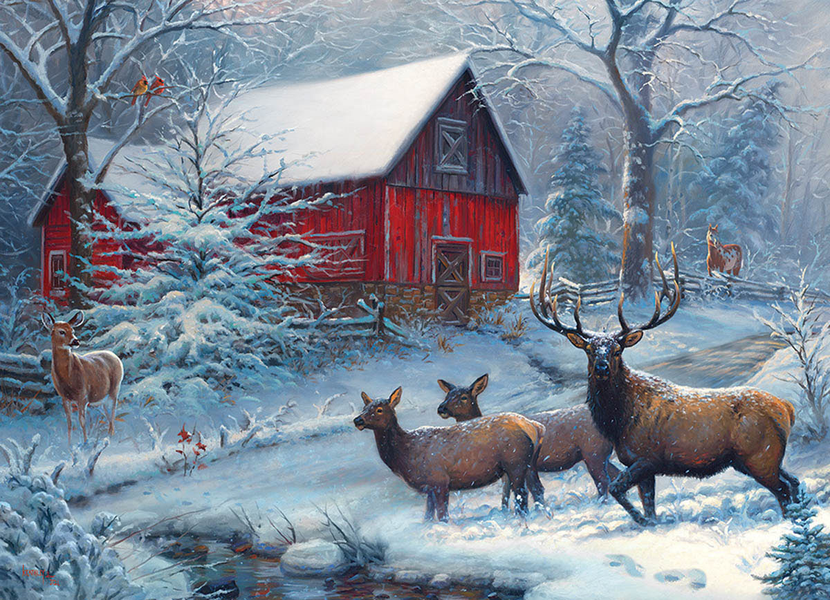 Winter Magic Winter Jigsaw Puzzle