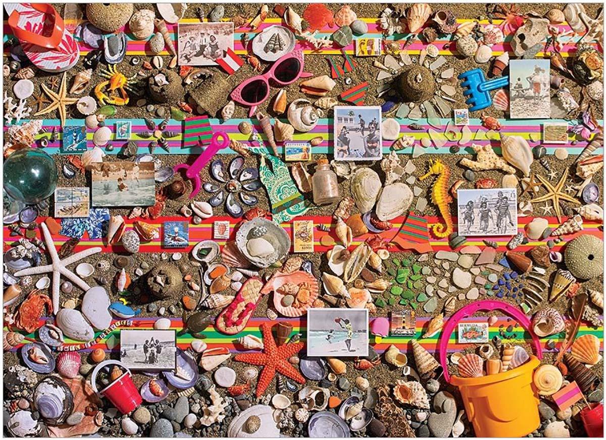 Beach Scene Beach Jigsaw Puzzle