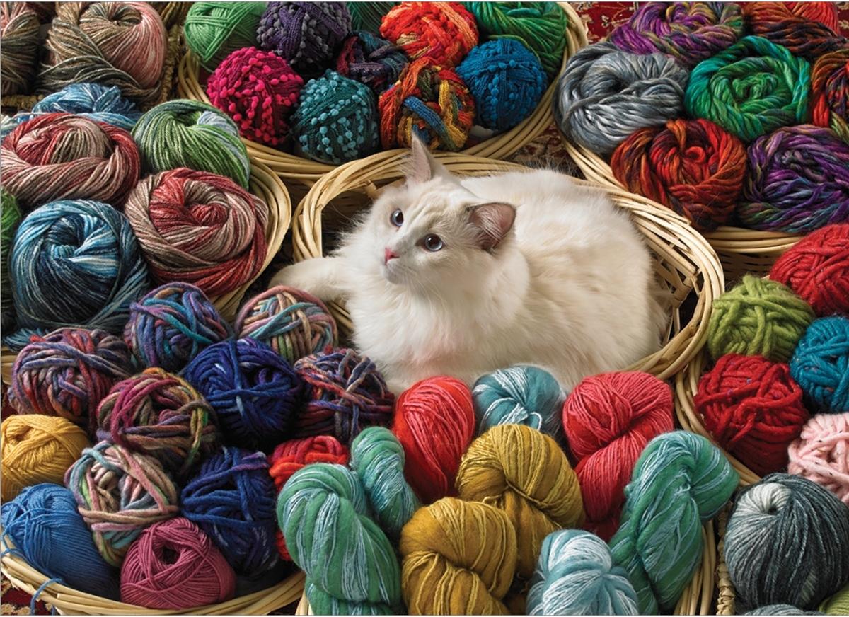 Fur Ball Cats Jigsaw Puzzle
