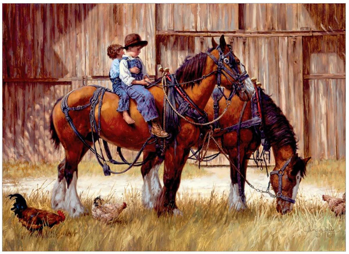 Back to the Barn Farm Jigsaw Puzzle