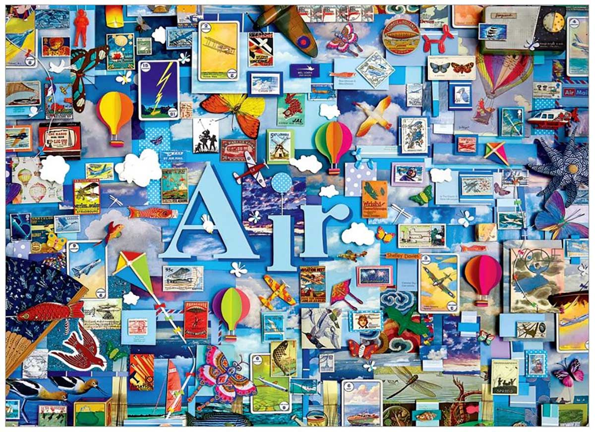 Air Collage Jigsaw Puzzle