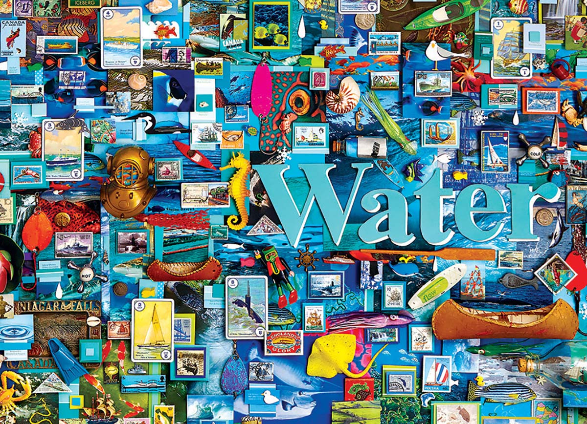 Water Nature Jigsaw Puzzle