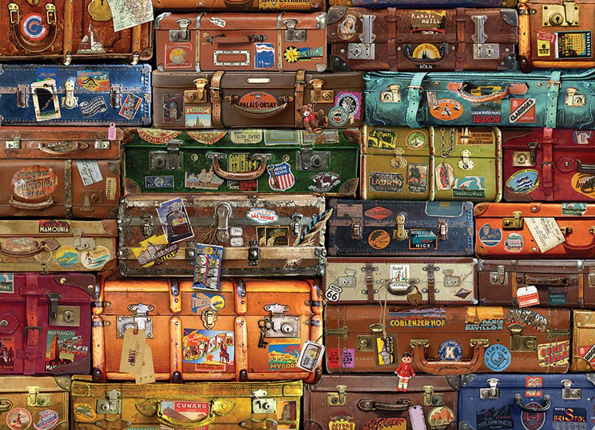 Luggage Travel Jigsaw Puzzle