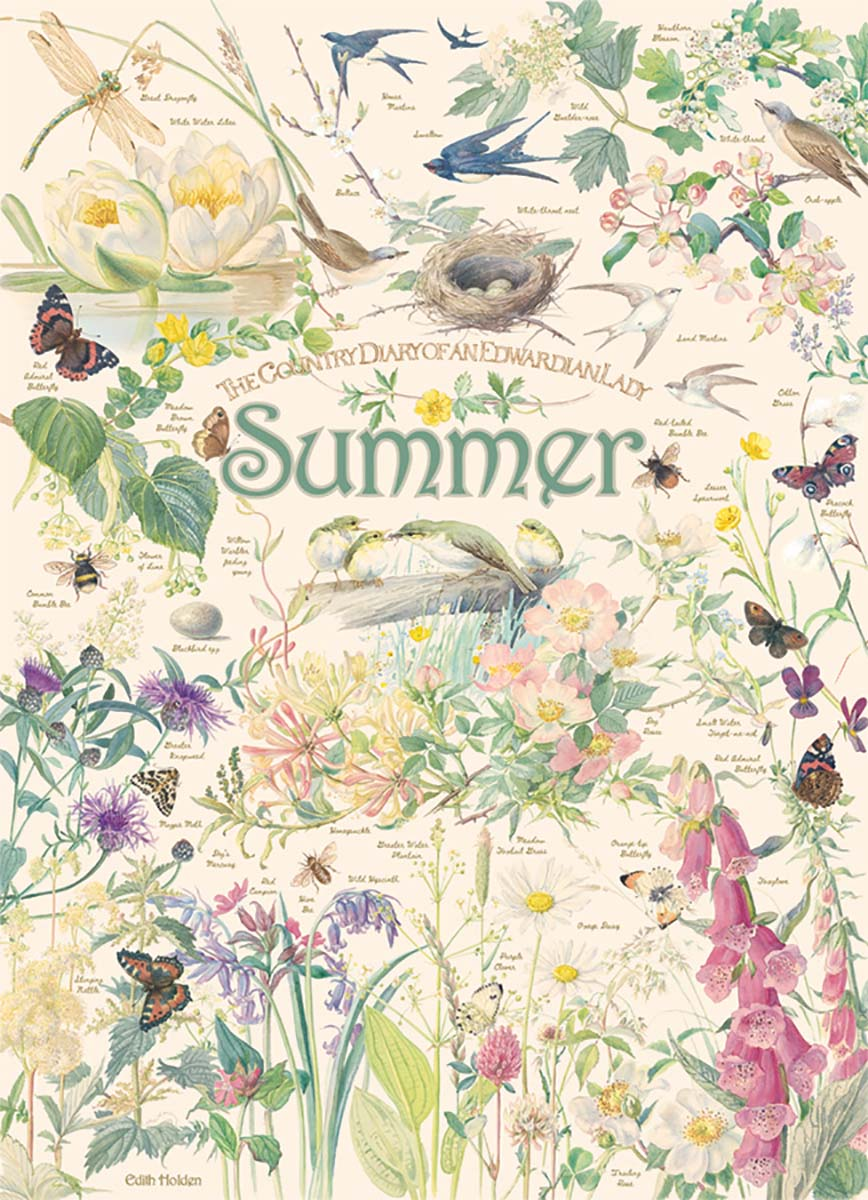 Country Diary: Summer Birds Jigsaw Puzzle