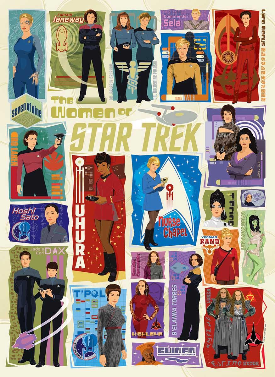 The Women of Star Trek Movies / Books / TV Jigsaw Puzzle