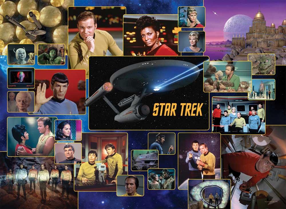 Star Trek: Original Series Movies / Books / TV Jigsaw Puzzle