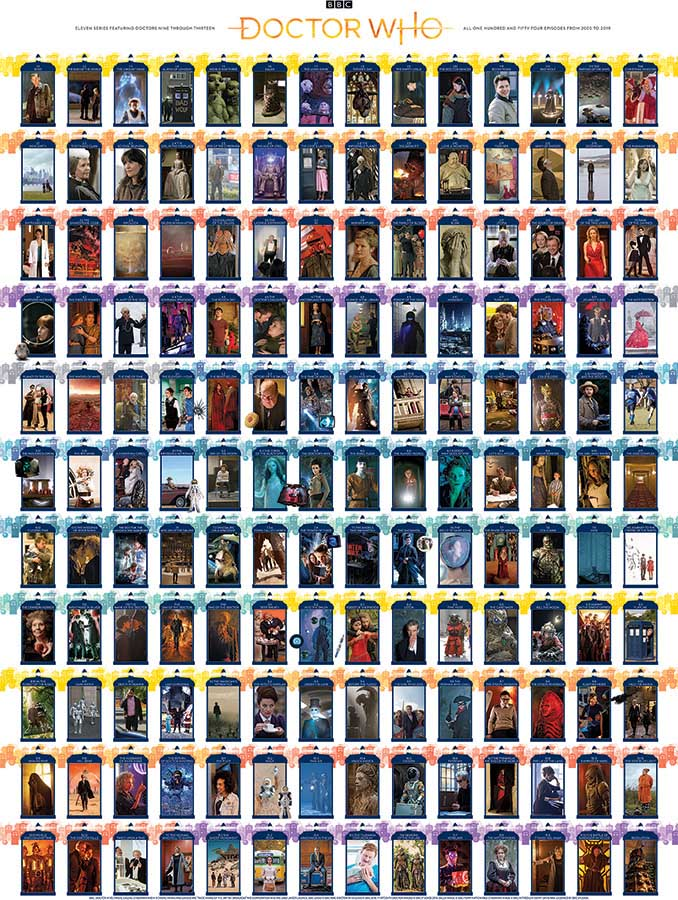 Doctor Who: Episode Guide Movies / Books / TV Jigsaw Puzzle