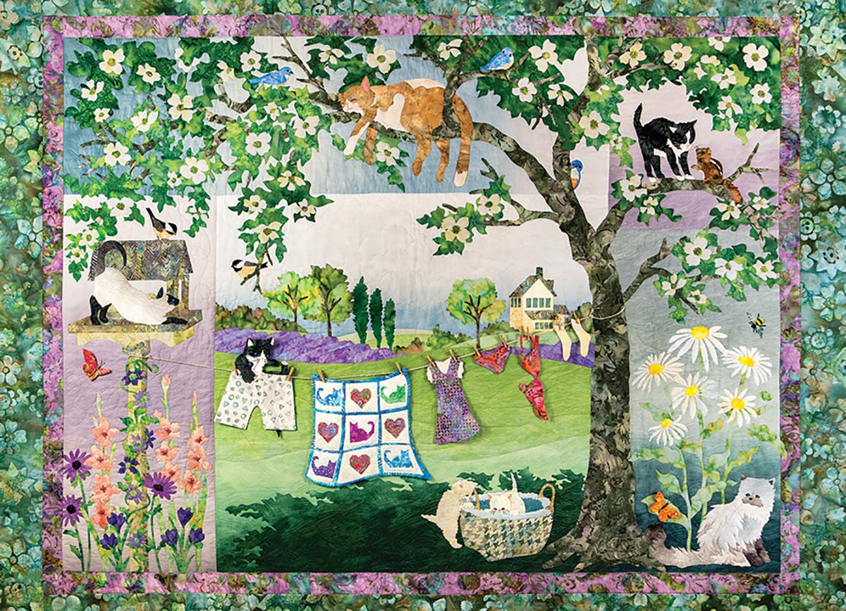 Wind in the Whiskers Crafts & Textile Arts Jigsaw Puzzle