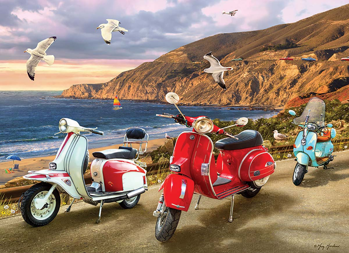 Scooters Vehicles Jigsaw Puzzle