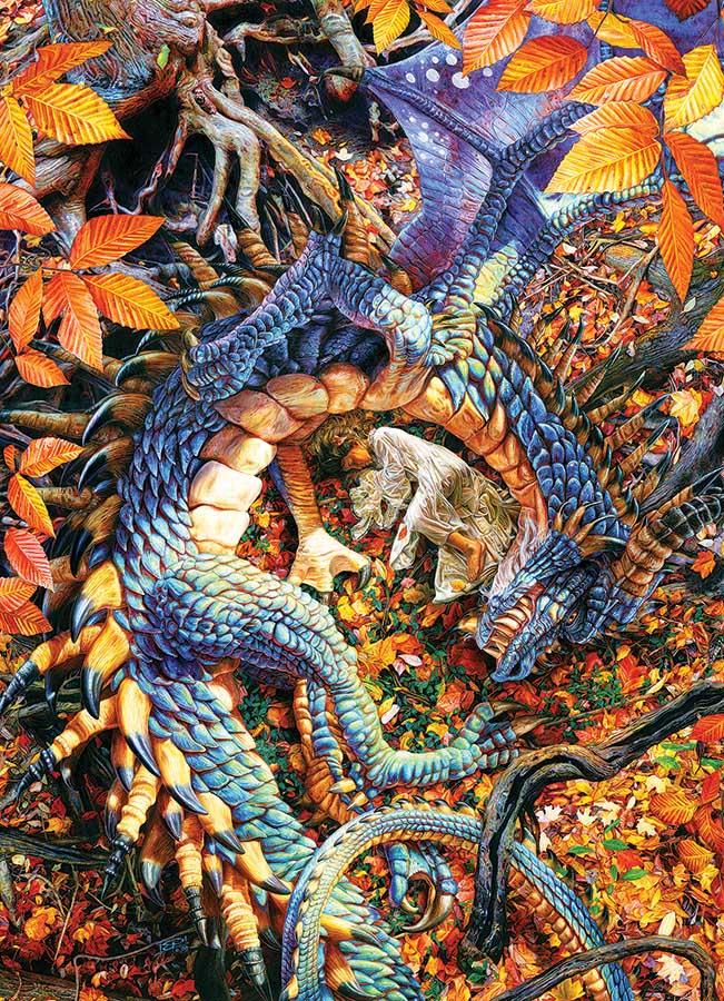 Abby's Dragon Fantasy Jigsaw Puzzle