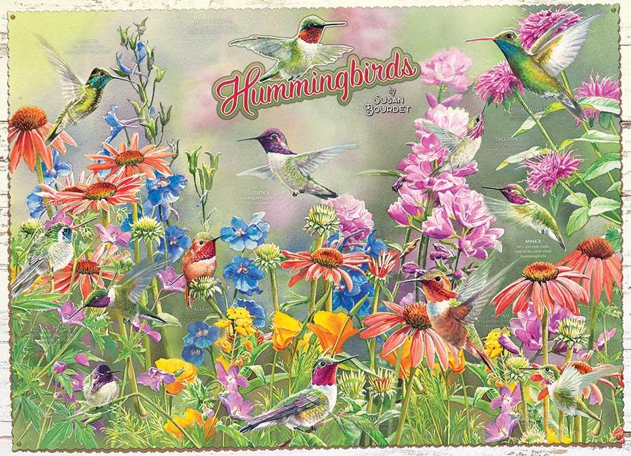Hummingbirds Birds Jigsaw Puzzle