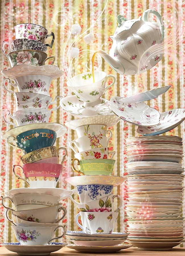 Magic Tea Shop Food and Drink Jigsaw Puzzle