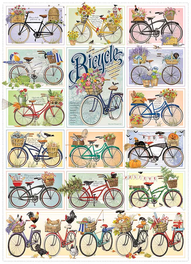 Bicycles Vehicles Jigsaw Puzzle