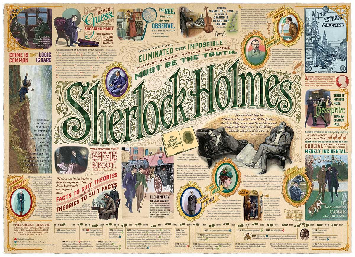 Sherlock Movies / Books / TV Jigsaw Puzzle