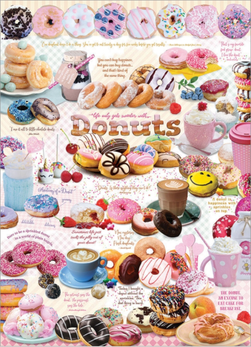 Donut Time Food and Drink Jigsaw Puzzle