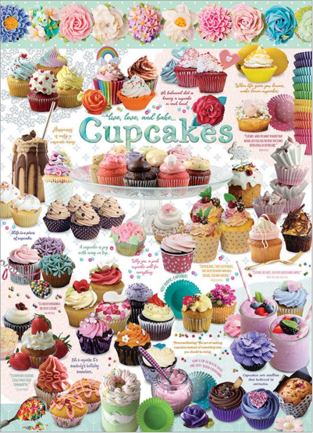 Cupcake Time Food and Drink Jigsaw Puzzle