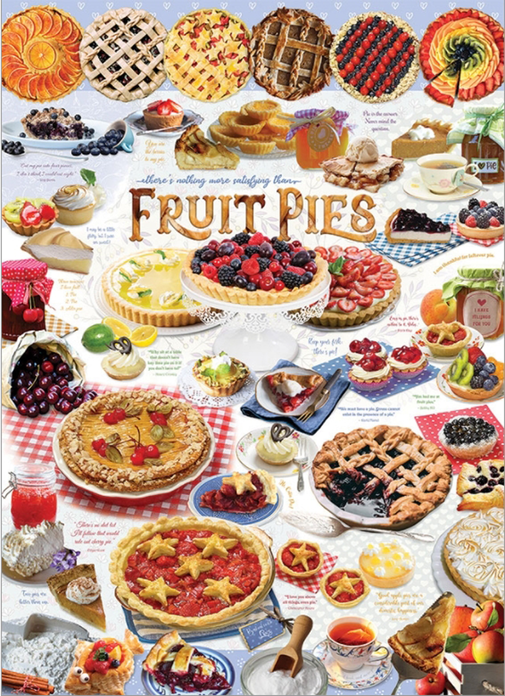 Pie Time Food and Drink Jigsaw Puzzle