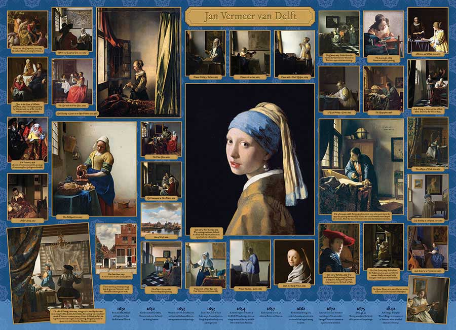 Vermeer Fine Art Jigsaw Puzzle