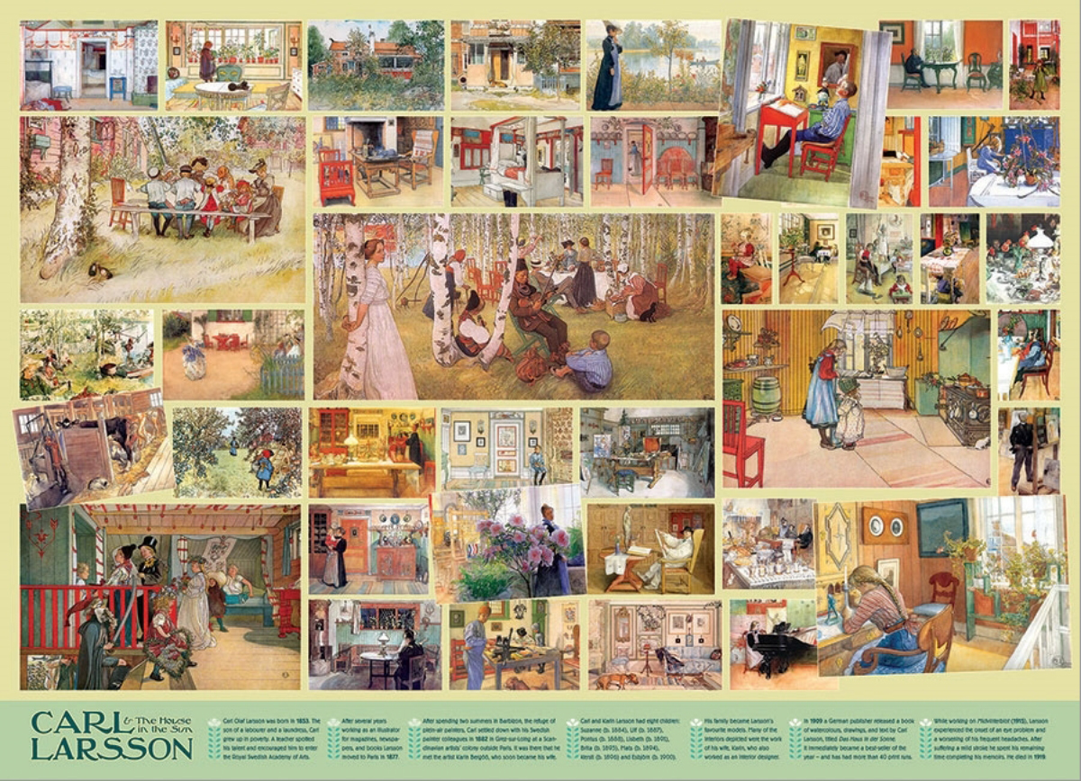 Carl Larsson Crafts & Textile Arts Jigsaw Puzzle