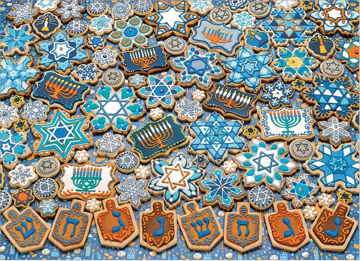 Hanukkah Cookies Religious Jigsaw Puzzle