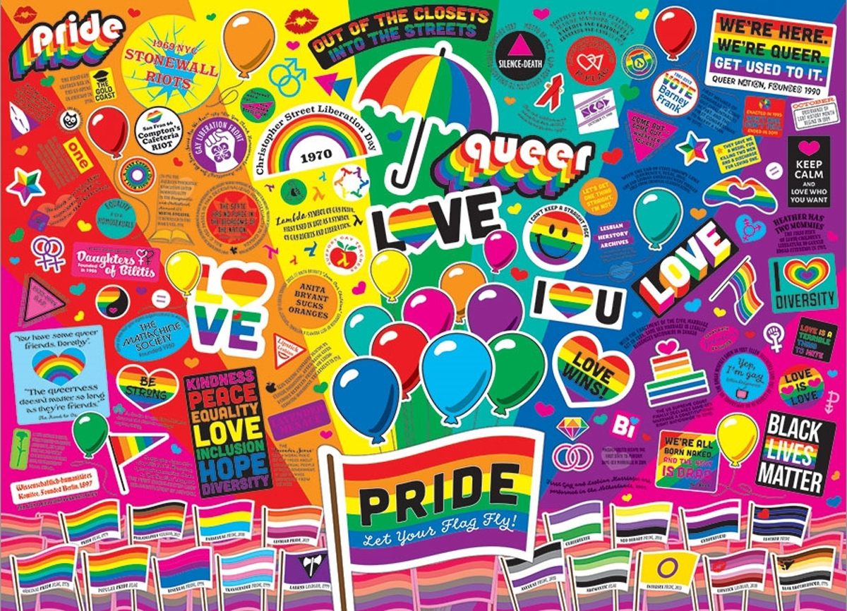 Pride Graphics / Illustration Jigsaw Puzzle