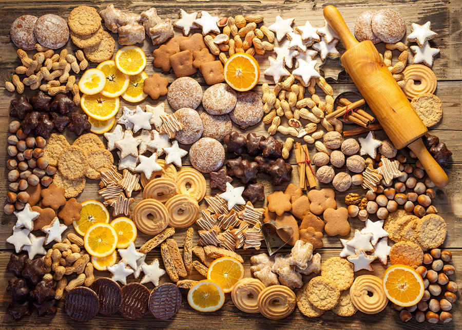 Cookies - Scratch and Dent Abstract Jigsaw Puzzle