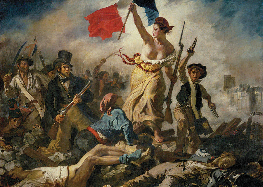 Liberty Leading the People Fine Art Jigsaw Puzzle