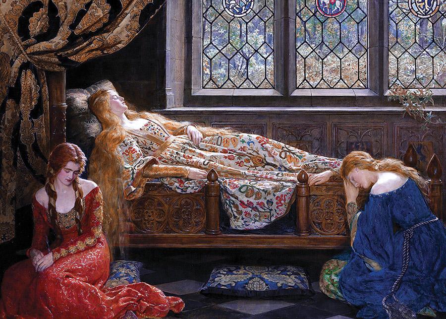 The Sleeping Beauty Fine Art Jigsaw Puzzle