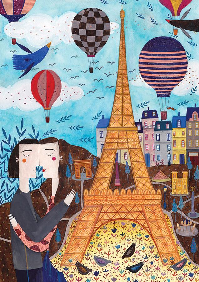 Paris Balloons Jigsaw Puzzle