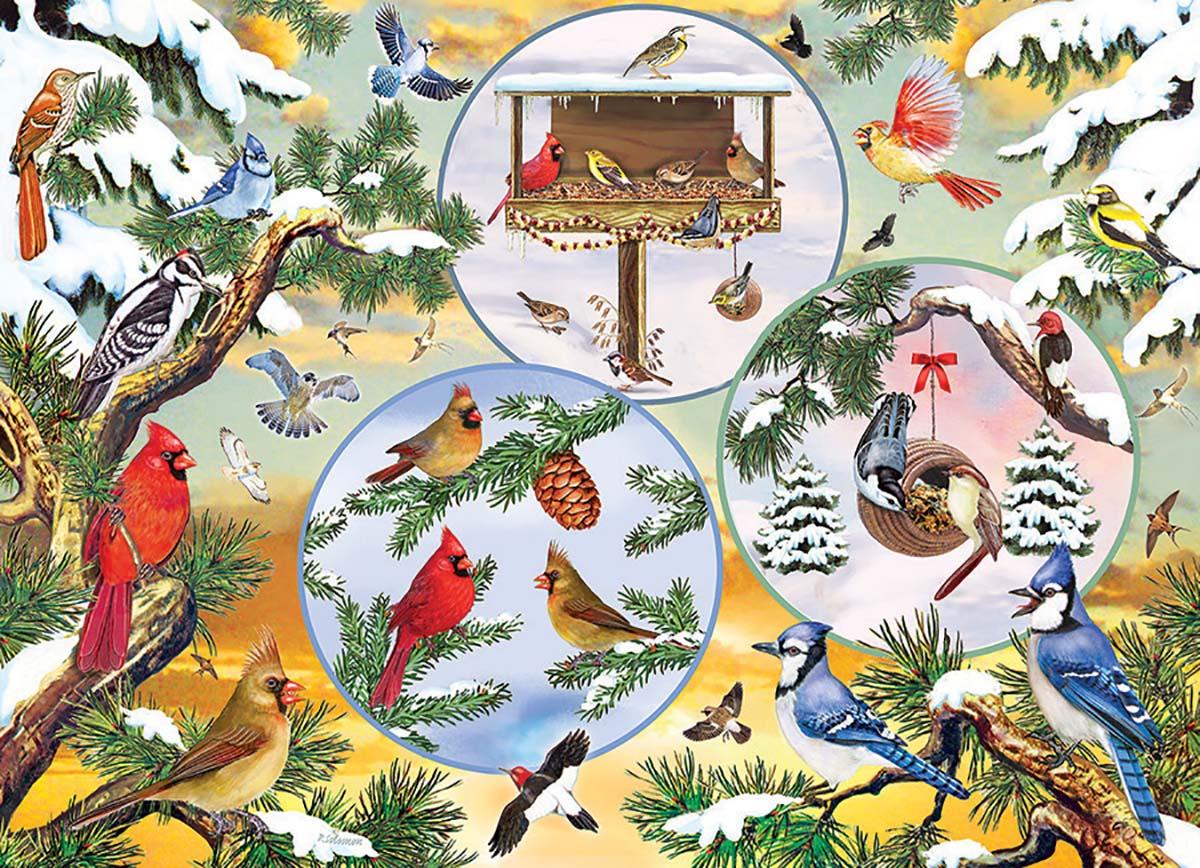 Winterbird Magic Birds Jigsaw Puzzle