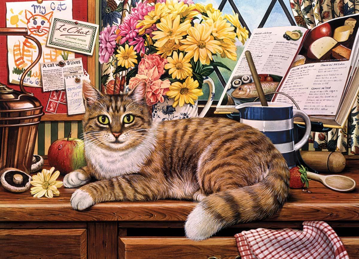 Matilda Cats Jigsaw Puzzle