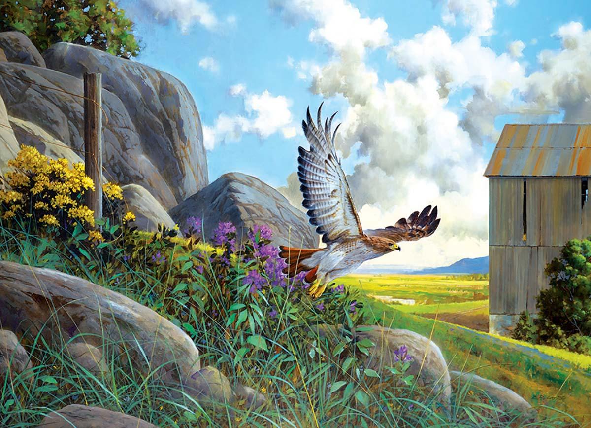 Take Off Birds Jigsaw Puzzle
