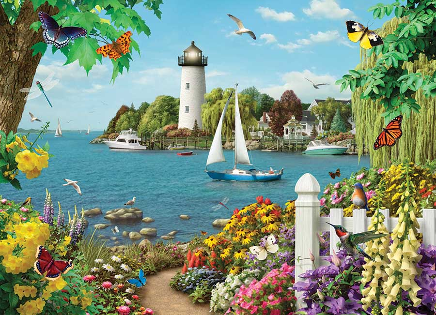 By the Bay Lighthouses Jigsaw Puzzle