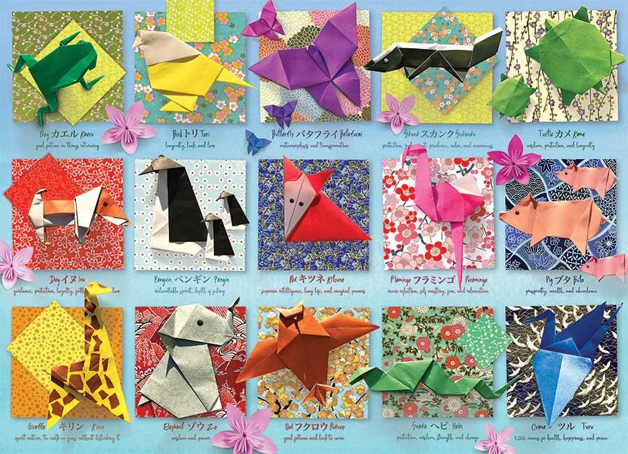 Origami Animals Animals Jigsaw Puzzle
