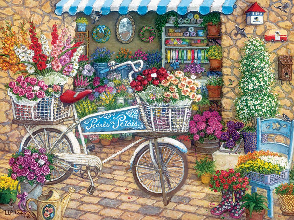 Pedals 'n' Petals Animals Jigsaw Puzzle