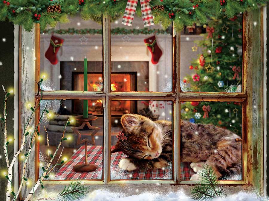 Cat Nap Cats Jigsaw Puzzle
