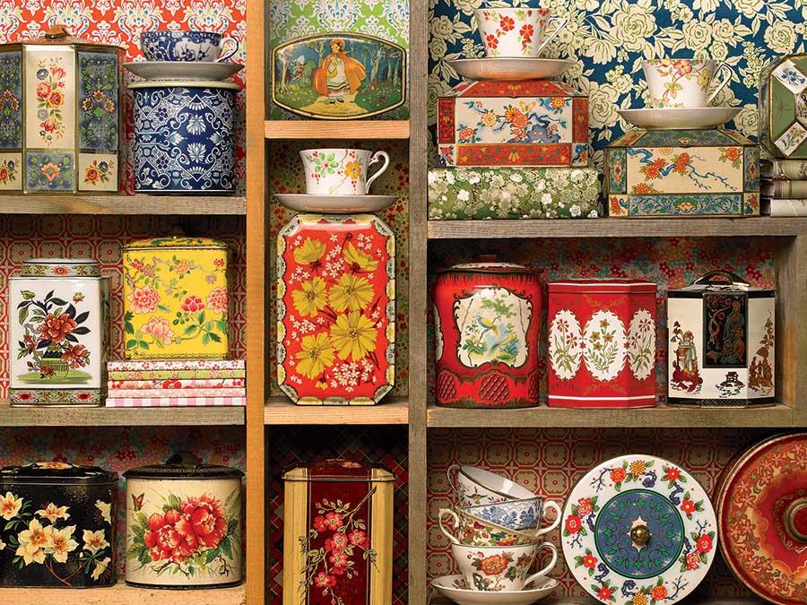 Tea Caddies Food and Drink Jigsaw Puzzle