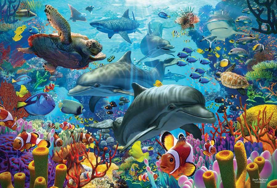 Coral Sea Animals Jigsaw Puzzle