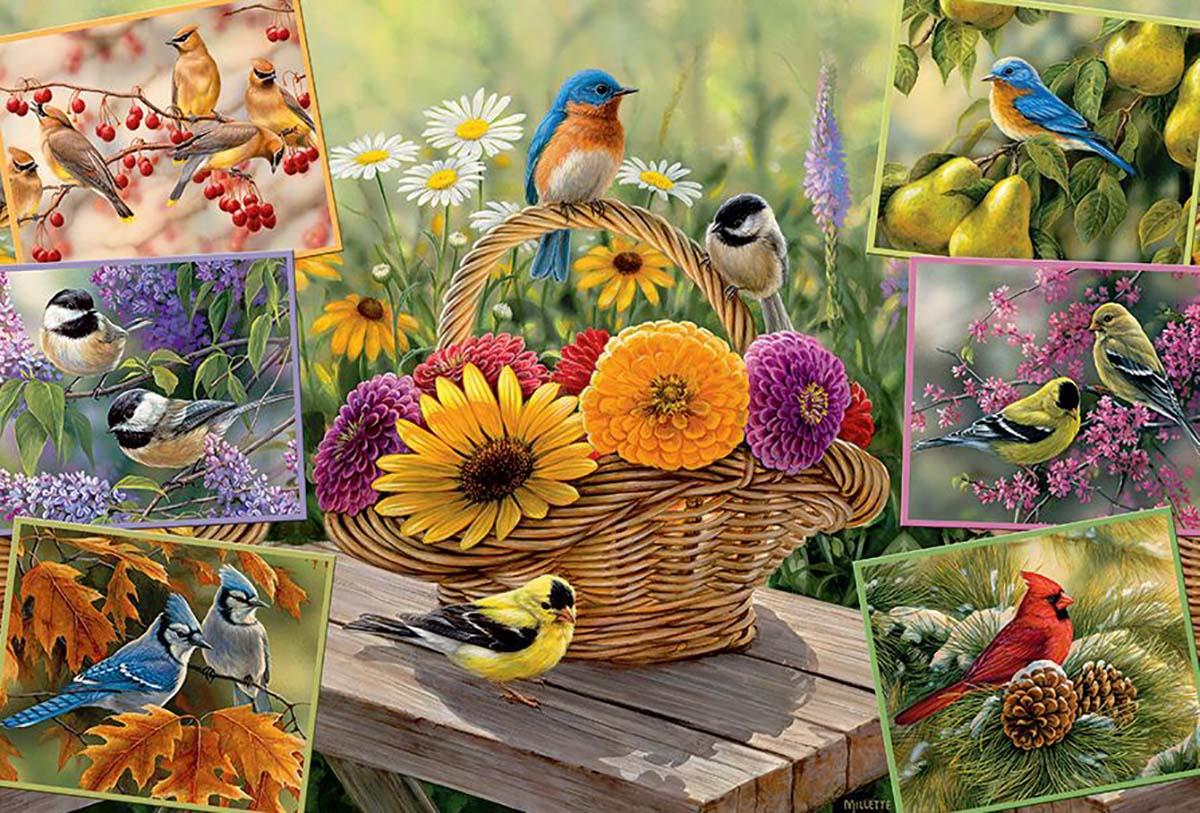 Rosemary's Birds Birds Jigsaw Puzzle